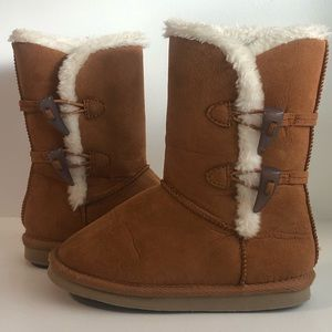 Toddler Fashion Winter Boot. Sherpa/Sheep Lined.
